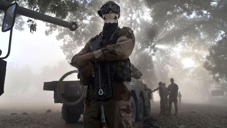 Franse soldaat in Mali. Beeld AFP