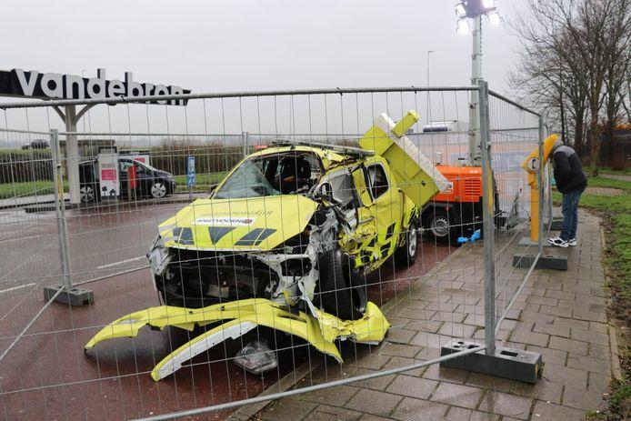 Het autowrak is op verschillende plaatsen in Nederland te spotten.