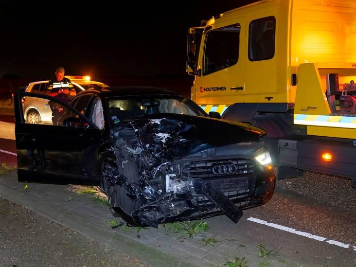 Flinke schade aan Audi en BMW bij ongeluk in Herpen