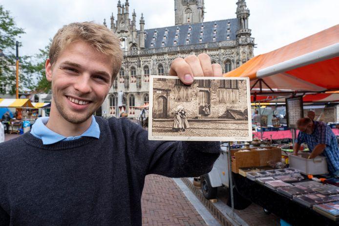 Emil Engh uit Oslo woont nu in Middelburg.