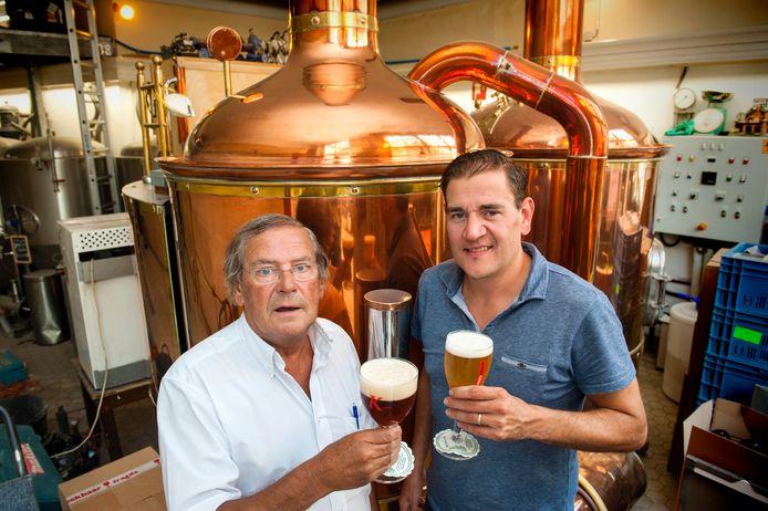 Jan van Kollenburg sr. en Jan van Kollenburg jr. van de gelijknamige brouwerij
