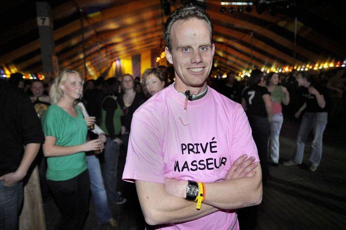 """Bart Vromans (34) is een van de oudgedienden bij de organiserende KPJ. """"Voor zo'n jubileum als dit wil je iets speciaals."""" foto Joris Buijs / PVE"""