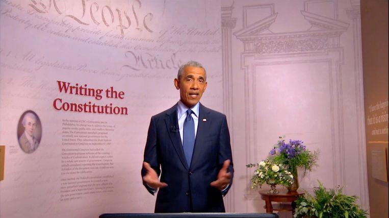 Barack Obama. Beeld Photo News