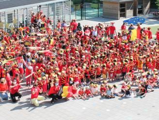 OLVI De Reuzenboom kleurt rood voor EK voetbal