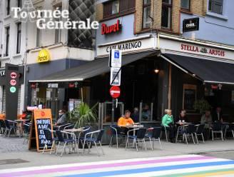 """Tournée Générale: Meteen erin vliegen op terras van café Marengo: """"Een gin-tonic om 8.20 uur"""""""