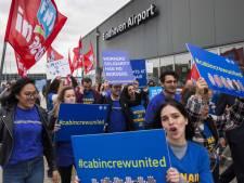 Cabinepersoneel vecht besluit Ryanair aan om Eindhoven te sluiten