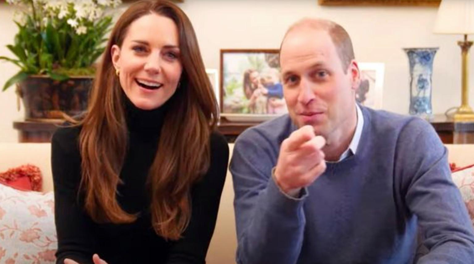 William en Kate beginnen met een YouTube-kanaal.