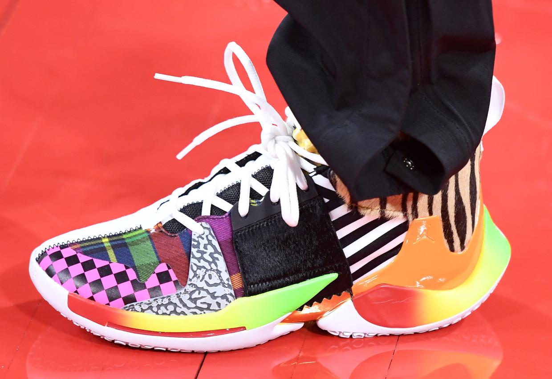 De 'Nike Adventure Club' richt zich op sneakers voor kinderen, maar de sportkledinggigant kijkt ook naar andere formules. Beeld AFP