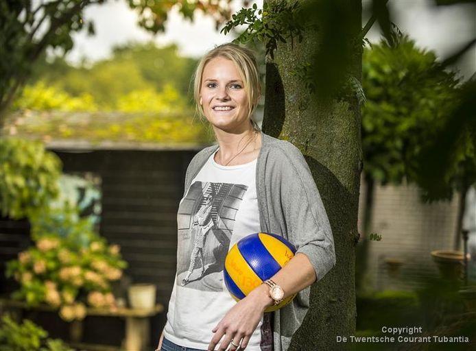 Manon Scholte Lubberink verkast naar Aruba en speelt dus maar een competitiewedstrijd voor haar club Wevo.