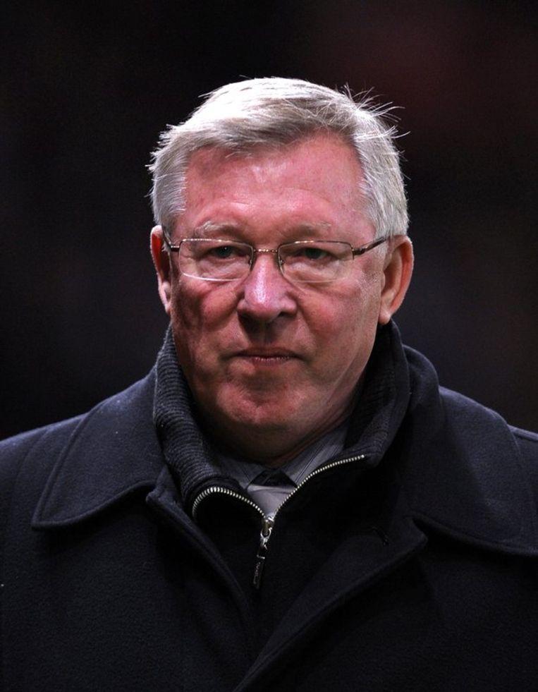 Manchester United-coach Alex Ferguson Beeld epa