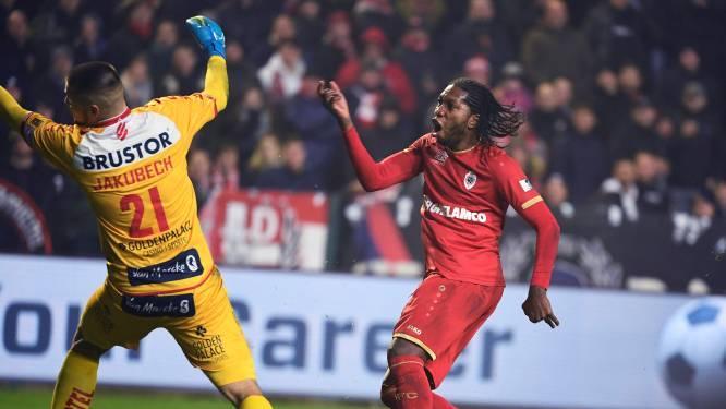 Antwerp en Kortrijk spelen gelijk in zinderende cupmatch: Mbokani voorkomt nederlaag na penaltymisser Lamkel Zé
