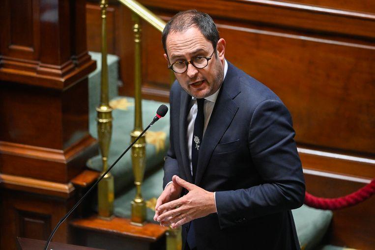 Minister van Justitie Vincent Van Quickenborne (Open Vld) Beeld BELGA