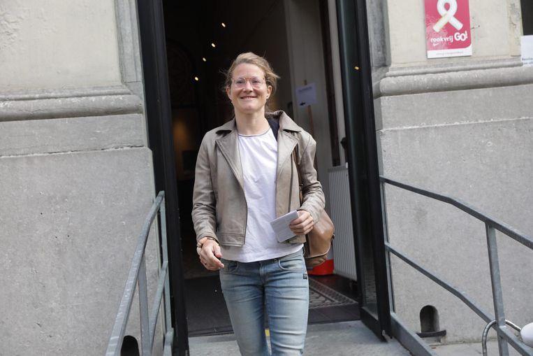 Anneleen Van Bossuyt heeft al gestemd