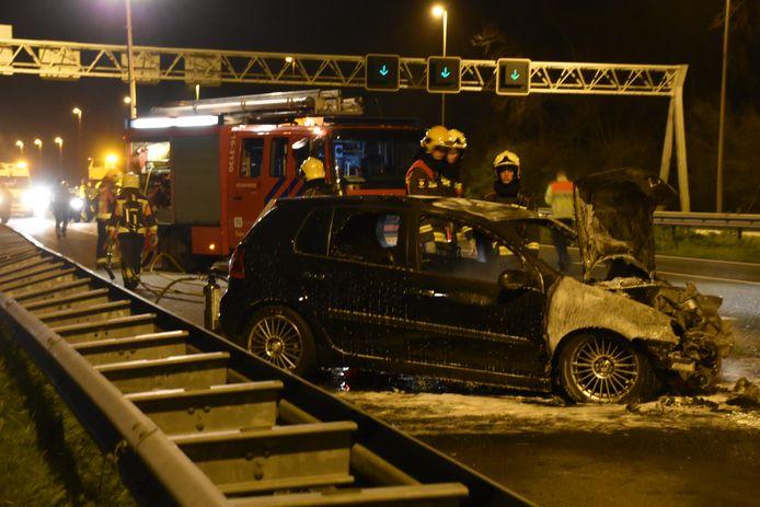 Ongeluk A12 Zevenhuizen