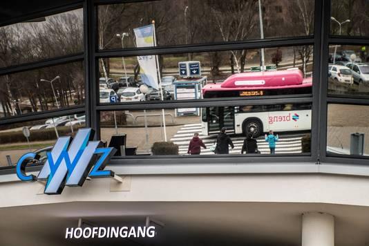 De hoofdingang van het CWZ in Nijmegen.