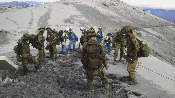 Berging na uitbarsting Ontake blijft moeizaam