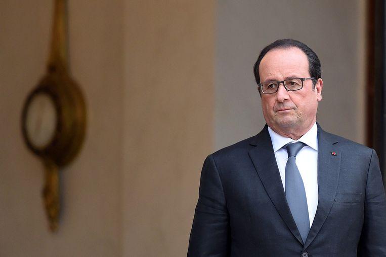 De Franse president François Hollande. Beeld anp