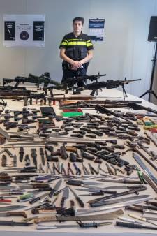 Massaal wapens ingeleverd bij politie Utrecht: 'Elk wapen is er één, maar we zijn niet naïef'