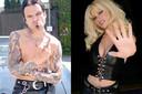 Sebastian Stan en Lily James vertolken Tommy Lee en Pamela Anderson in de nieuwe reeks 'Pam & Tommy'. De opnames daarvan zijn nu bezig.