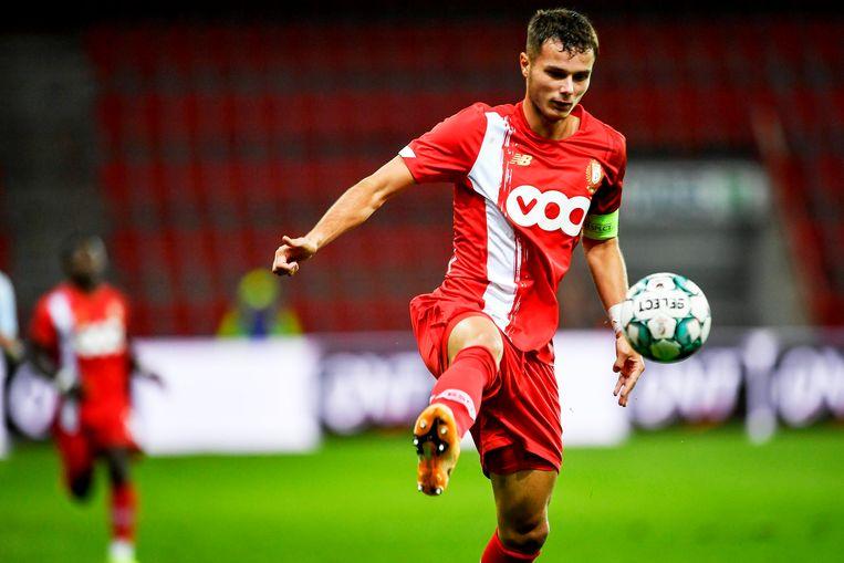 Zinho Vanheusden, kapitein van de Rouches. Beeld Photo News