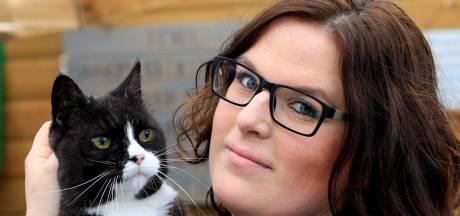 Kattenbarber Nicolle uit Nunspeet: 'Als de kat blij is, ben ik blij'