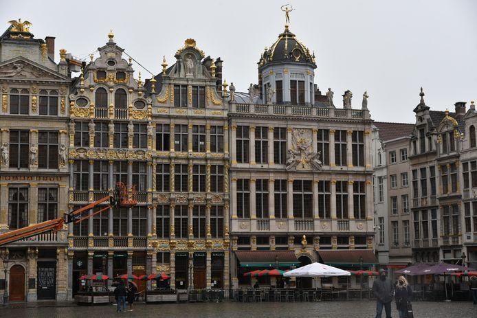 Terrassen terug open in Brussel