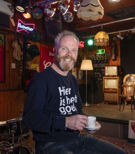 Erwin Kwakman van Muziekcafé De Cactus in Hengelo voelt meer steun van gasten dan van overheid