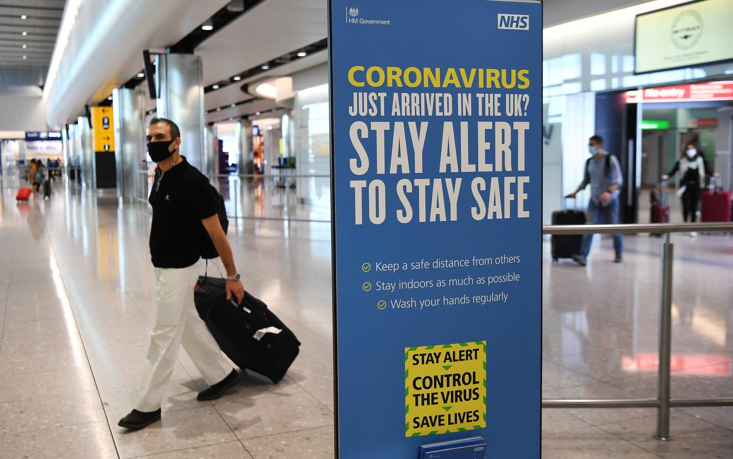Photo d'illustration de l'aéroport de Londres.