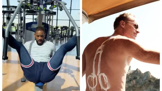 CELEBS 24/7. Will Smith weet niet meer hoe de fitness werkt en de kinderen van Paul Bettany halen een grap uit
