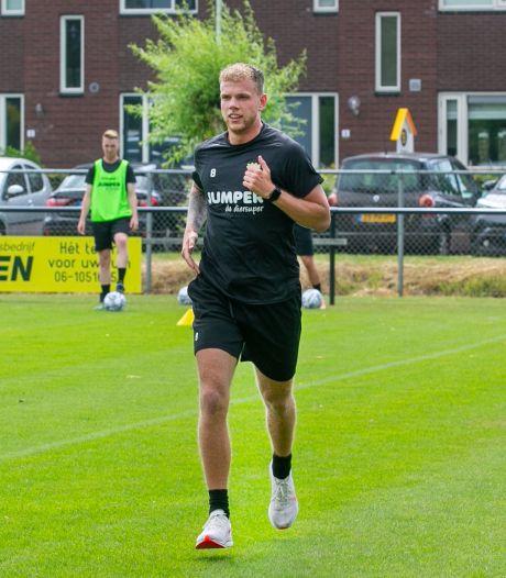 Luuk Brouwers op koers na operatie en rent hard op weg naar terugkeer in juli: 'Ik loop alweer 14 kilometer per uur, meer dan mag'