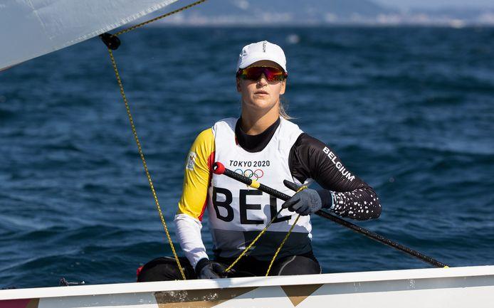 Emma Plasschaert kon net geen medaille in de wacht slepen.