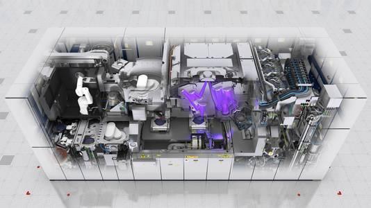 De nieuwste EUV machine van ASML heeft 1500 sensoren.
