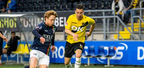 NAC-speler Haye: 'Het valt niet uit te leggen hoe NEC deze wedstrijd gewonnen heeft'