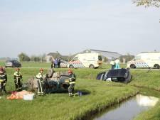 Man (57) overleden bij ernstig ongeluk in Almkerk, man en vrouw Den Haag gewond