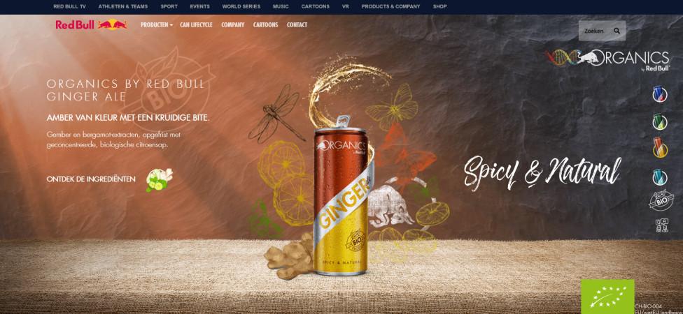 Formule 1-sponsor Red Bull wil ecologische voetafdruk verkleinen met biofrisjes