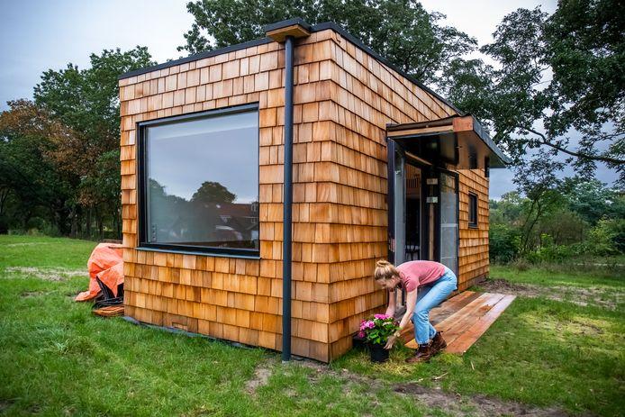 Ter illustratie, een tiny house in Zeist.