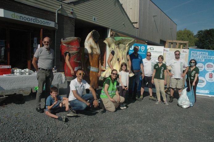 Jaycees Ronse en De Noordboom coördineerden de World Cleanup Day.