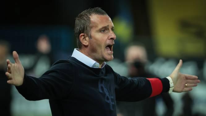 Degradatie eist zijn tol: Nicky Hayen niet langer coach van Waasland-Beveren