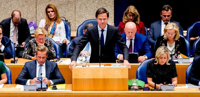 Het kabinet Rutte III. Beeld null
