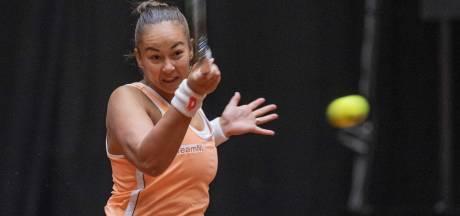 Nieuwe klap voor tennissters: 2-1 achterstand na verlies Pattinama-Kerkhove