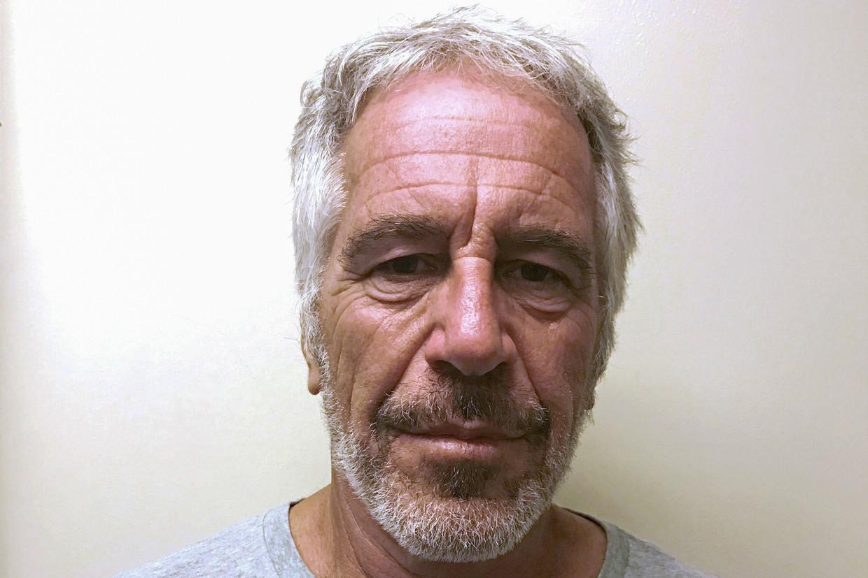 Een mugshot van Jeffrey E. Epstein.  Beeld REUTERS