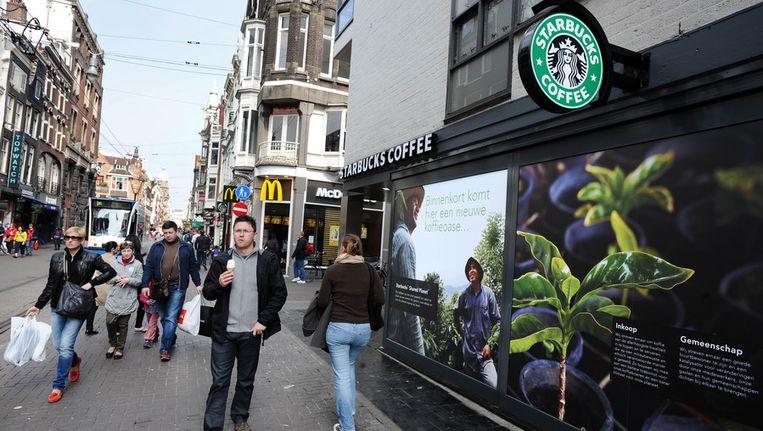 Vroeger was de Leidsestraat een doorloopstraat, nu is het een winkelbestemming op zich. Beeld ANP