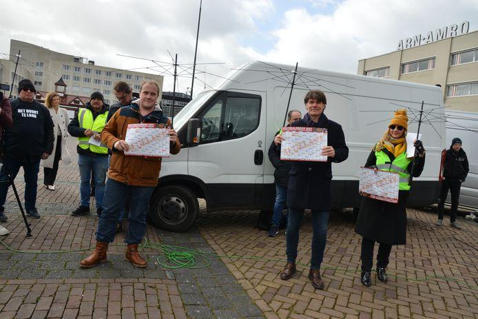 Kermisexploitatie demonstratie Breda
