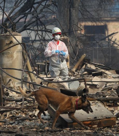 Dodental branden Californië naar 71, meer dan 1000 mensen vermist