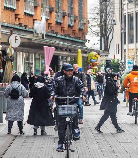 Op de fiets door de Grote Marktstraat? Verbod lijkt er nu echt te komen