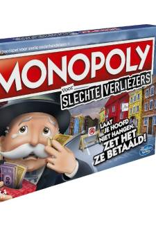 Deze nieuwe editie van Monopoly is ideaal voor slechte verliezers