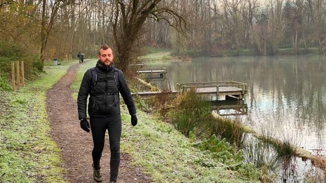 """Lenny (28) verpulvert wereldrecord ultrawandelen voor jongeren: """"Voor sommige tochten sta ik al om 2 uur 's nachts op"""""""