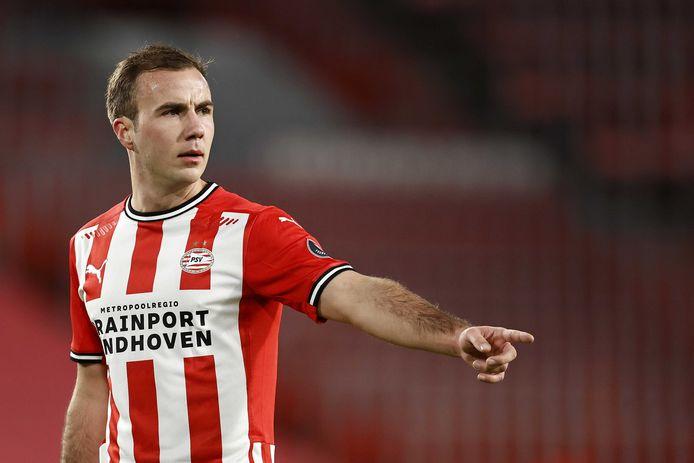 Mario Götze probeert er 6 februari weer bij te zijn, als PSV thuis tegen FC Twente speelt.