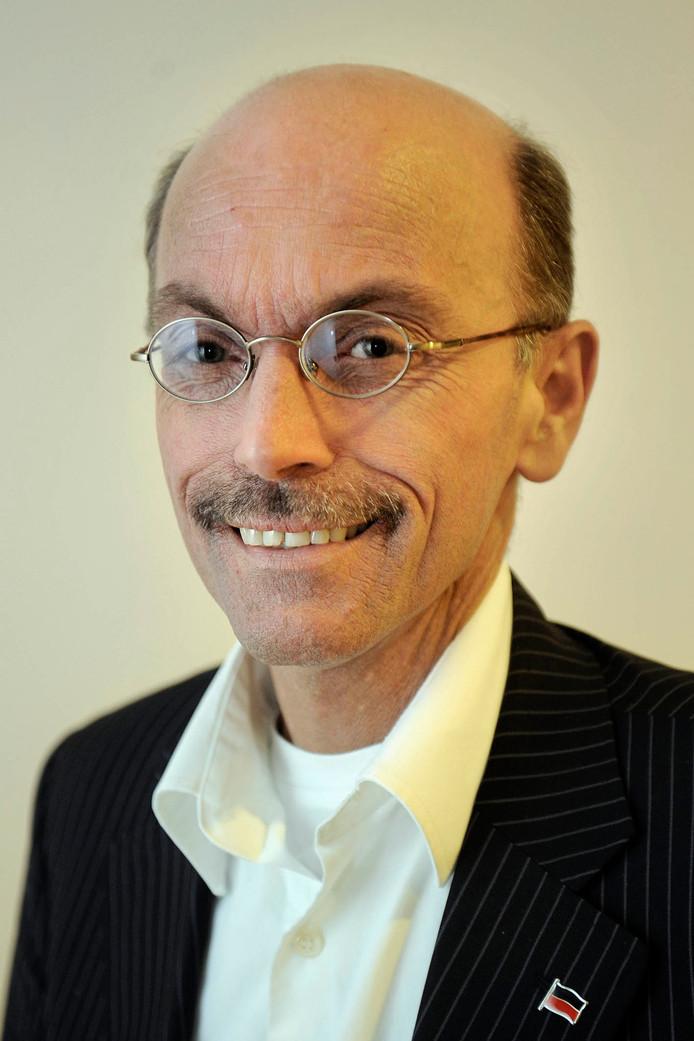 Albaer Hillen, een van de Nijmeegse raadsleden die een koninklijke onderscheiding heeft gekregen.