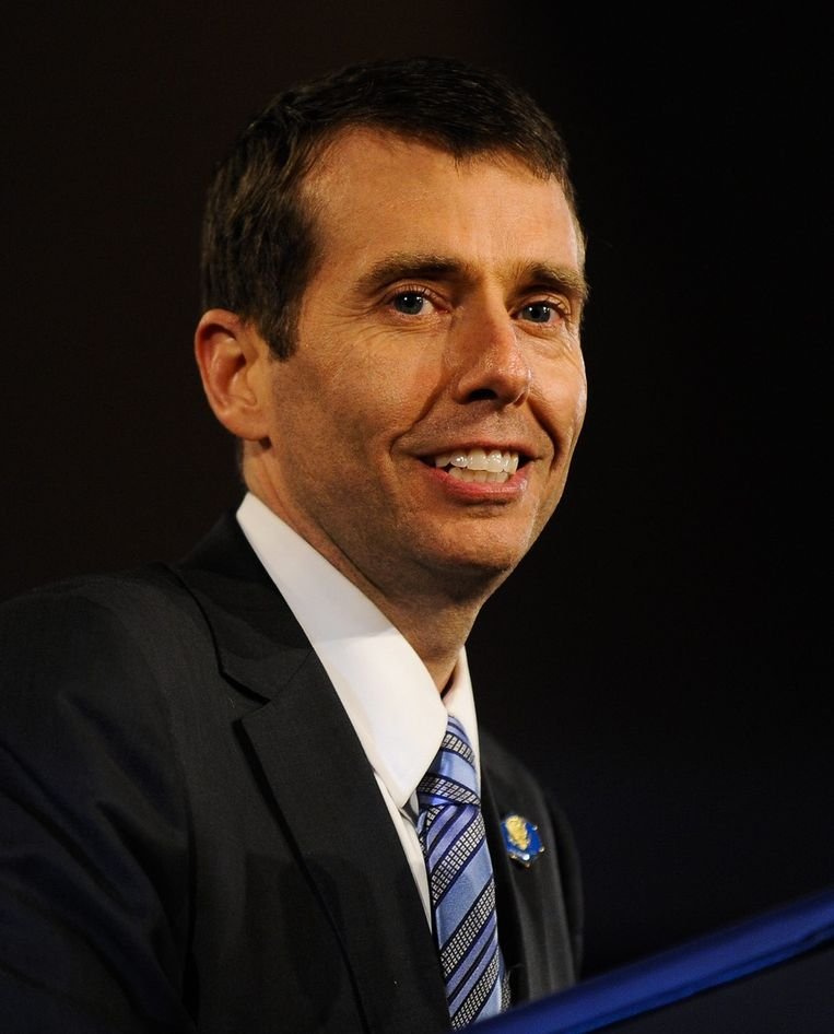David Plouffe, topstrateeg van Obama. Beeld EPA
